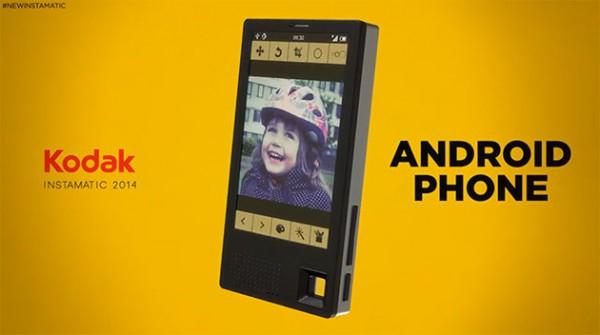 Kodak решил опробовать себя в сегменте планшетов и смартфонов